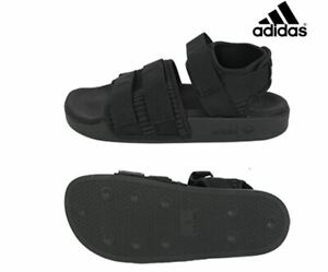 Detalles de Nuevas Adidas Adilette Sandalias Mujer 2.0 Negro Zapatillas De  Moda CG6623- ver título original