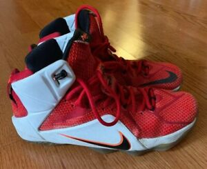 reputable site 9cc39 35048 Image is loading 2014-NIKE-LEBRON-12-LION-HEART-Mens-Shoes-