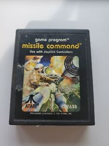 ATARI 2600: Missile Command - WORKS GREAT!