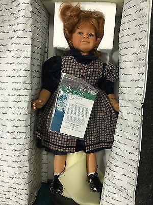 Dolls Dolls & Bears Knowledgeable Margit Dassen Puppe Annika 63 Cm Limitierte Auflage Top Zustand