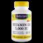 Pure Vitamin D3 D-3 5000IU 360 CapsulesBone HealthImmune System