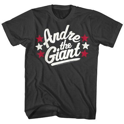 Andre the Giant Wrestler Retro Poster Men/'s T Shirt Sunrise Stars Fight Champion