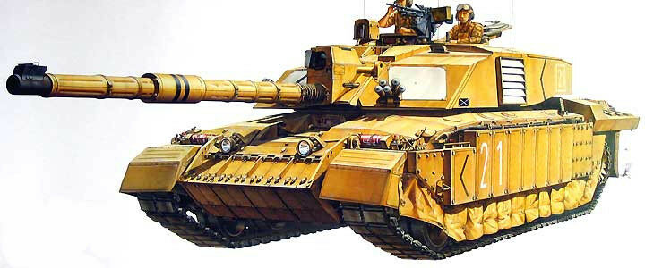 Tamiya 1 3 5 35274  Battle Tank Challenger 2 (Kit)