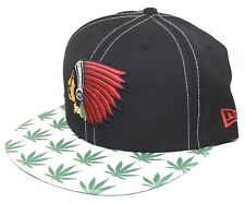 d9135e0b946 Boston Braves Weed Brim 9FIFTY New Era SnapBack Black   Red Sox