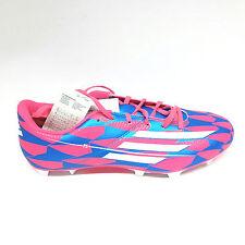 Adidas F5  FG Fußballschuh Soccer Schuhe Fußball Gr.42 UK 8 rot blau Nocken