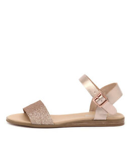 Details about New I Love Billy Oneday Rose Gold Womens Shoes Casual Sandals Sandals Flat
