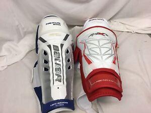 a3e0dd1fcad Bauer APX2 Nexus 8000 Hockey Shin Guards 14 Inch Mismatch NWT YGI ...