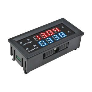 4-Digit-0-28-039-039-Voltmeter-Ammeter-100V-10A-Volt-Amp-Meter-Voltage-Current-5-Wire