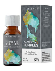 NEW In Essence Thai Temples 8ml