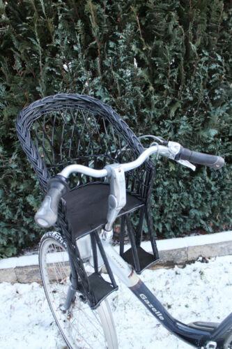 Siège enfant pour vélo panier d/'osier Taille Vélo Panier de Vélo Guidon Siège enfant avant