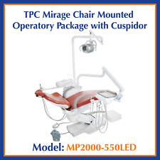 Tpc Dental Mirage Chair Mounted Operatory Package Withcuspidor Mp2000 550led
