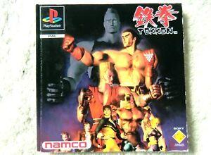 74364-Instruction-Booklet-Tekken-Sony-PS1-Playstation-1-1995-SCES-00005