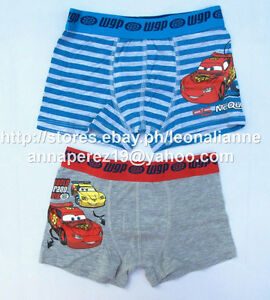 74-OFF-LICENSED-DISNEY-CARS-MC-QUEEN-2PK-BOXER-SHORTS-4-5-YRS-BNEW-DKK-79-95