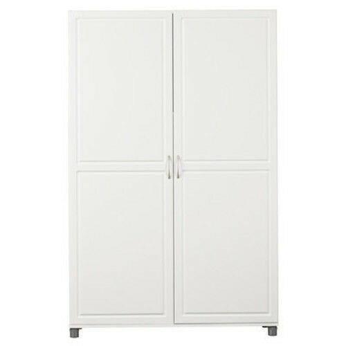 Incredible Armoire Wardrobe Cabinet White Closet Dresser Storage Bedroom Furniture Jewelry Beutiful Home Inspiration Ommitmahrainfo