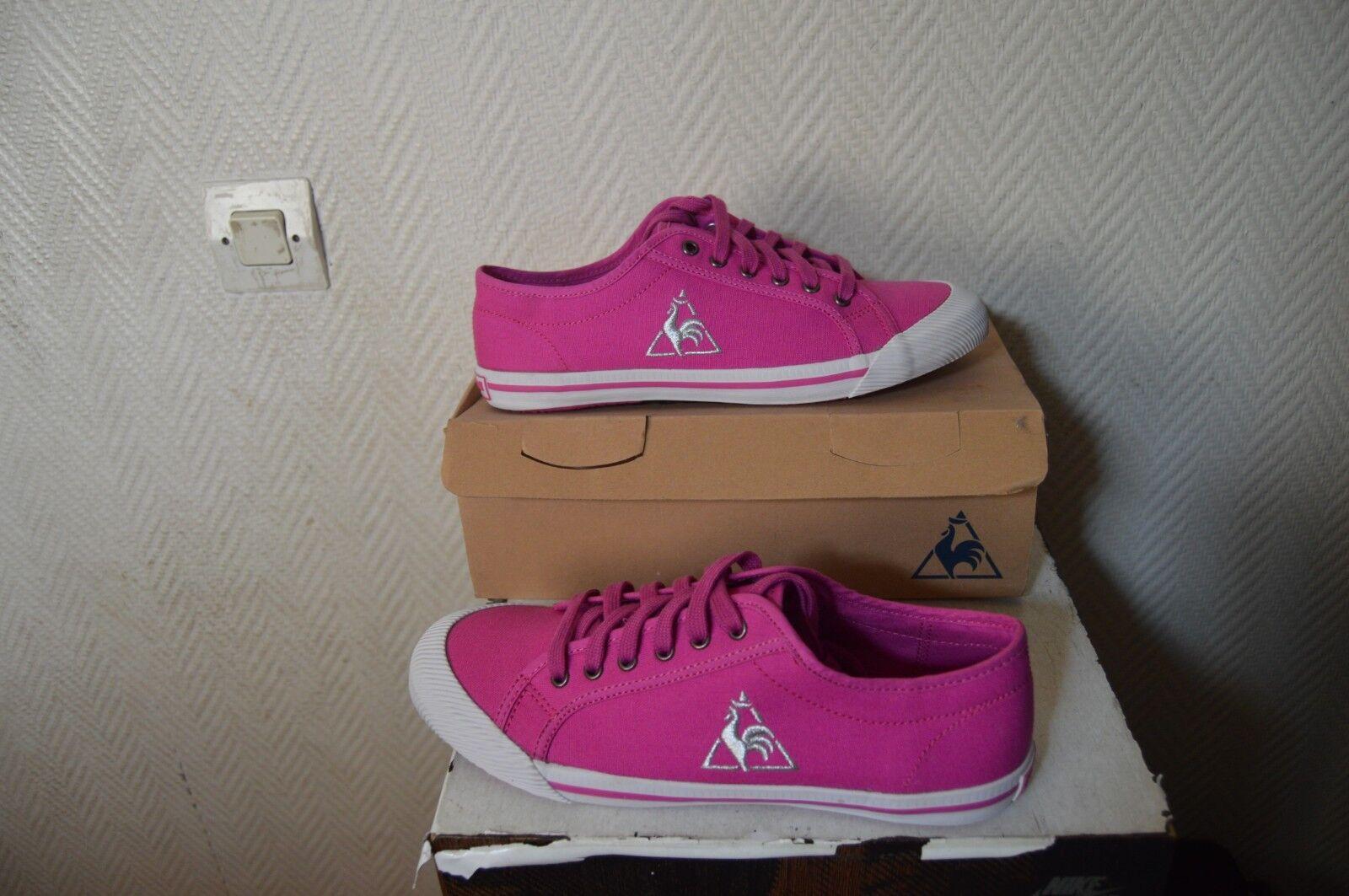 CHAUSSURE BASKET LE COQ SPORTIF DEAUVILLE size 37 SHOES shoes shoes NEUF