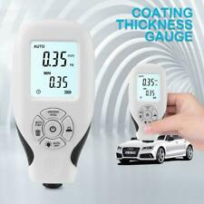 Coating Thickness Gauge Digital Paint Meter For Car Paint Thickness 001mm