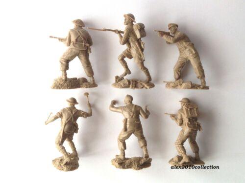 NEW PLASTIC PLATOON,Fallschirmjägers-2 vs.British Infantry,rubber soldiers1:32