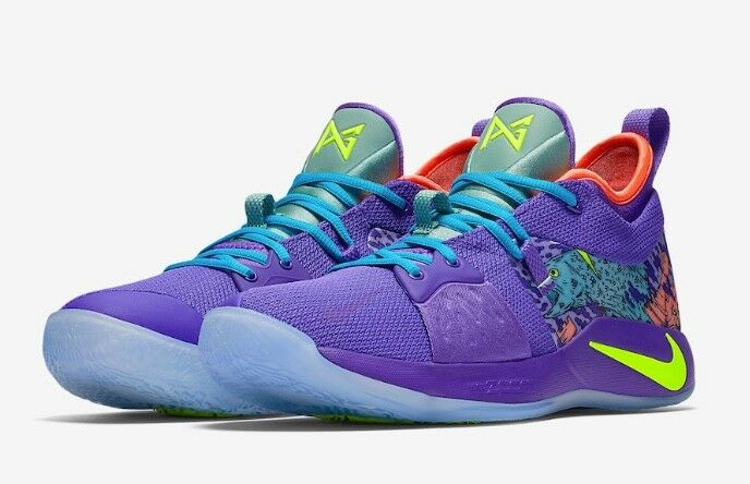 Nike PG 2 MM Mamba Mentality Cannon Purple Paul George AO2986-001 Size 9 Limited