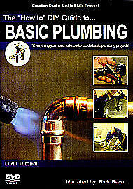 The How To DIY Guide To Basic Plumbing (DVD, 2007)