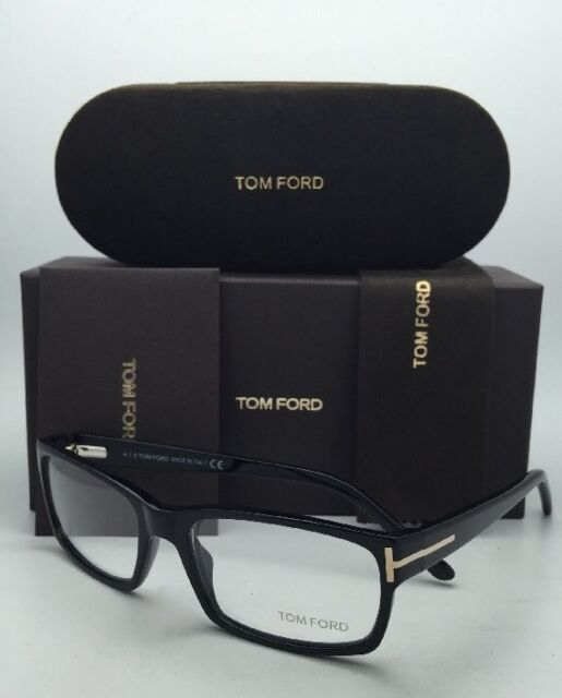 d056971d19 New Classic TOM FORD Eyeglasses TF 5013 B5 54-17 Black Frames with Demo  Lenses