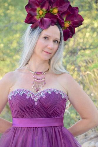 Goddess Faerie Princess Flower Floral Festival Bo