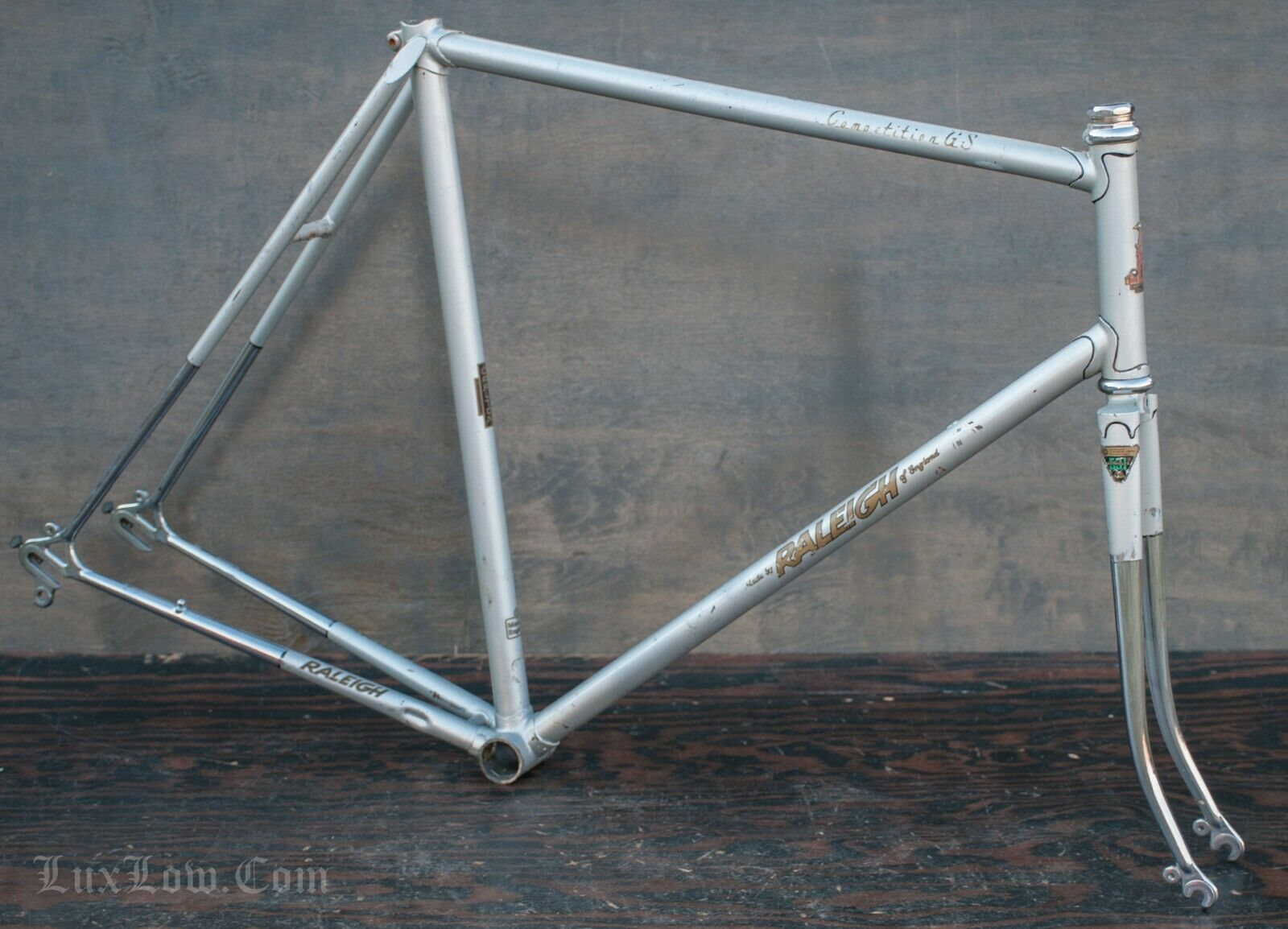 Vintage Raleigh CompetitionGS RoaCykel Frame Fork Carlton Bicycle Campagnolo 531