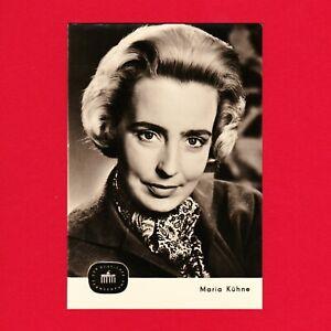 Ansichtskarte-Maria-Kuehne-DDR-Deutscher-Fernsehfunk-Nr-6-62