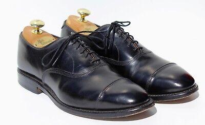 Allen Edmonds 8 D 'Park Avenue' Black Cap Toe Oxford Dress Shoes - USA - $395.00