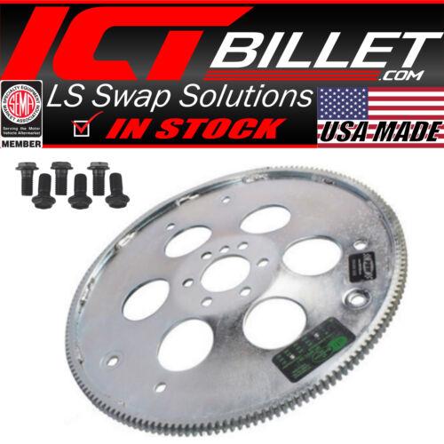 """LS Flexplate w// Bolts LS1 TH400 TH350 700R4 Swap Flywheel SFI 10.75/"""" 11.06 PRW"""
