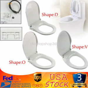 Fresh Water Spray Non Electric Mechanical Bidet Toilet Seat With