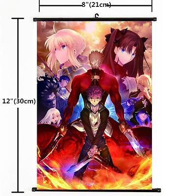 Fate//Grand Order fate zero fate stay night Wall Poster Scroll Home Decor 1438
