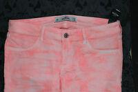 HOLLISTER Damen Jeans 9R W29 L29 Pink Neu mit Etikett