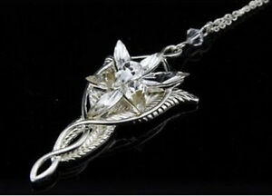 Vintage lord of the rings arwen evenstar pendant necklace lotr fairy image is loading vintage lord of the rings arwen evenstar pendant aloadofball Choice Image