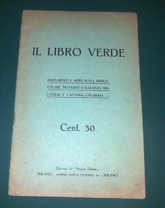 IL-LIBRO-VERDE-Denuncia-Trattato-Alleanza-Italia-Austria-Ungheria-1915-WWI