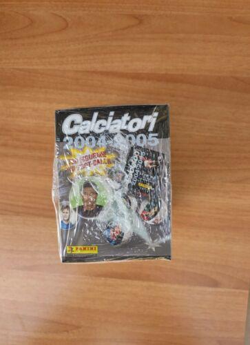 Box Figurine Calciatori Panini 2004//05 Sigillato,Raro,Bustine FOOT-BALL,New,Mint