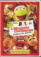 A Muppets Christmas Letters To Santa Extended Edition Dvd Brand