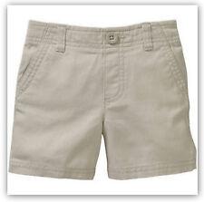 Healthtex Baby Toddler Boys' Flat Front Cotton Shorts Adj. Waist / Sidewalk / 5T