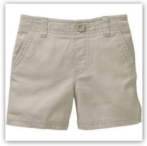 Sidewalk 5T Waist Healthtex Baby Toddler Boys/' Flat Front Cotton Shorts Adj