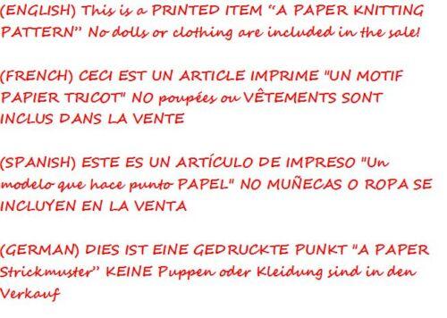ARAN PAPER KNITTING PATTERN Honeydropdesigns Marshmallow Hearts