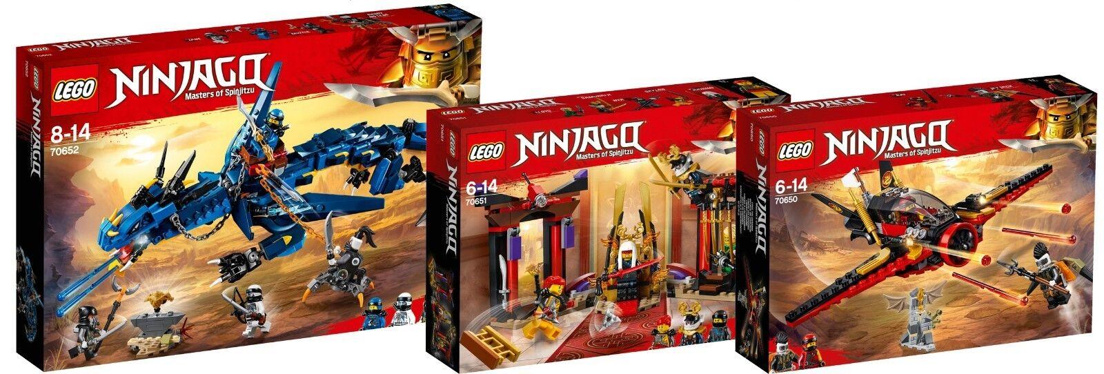 LEGO Ninjago Dragon 70652 70651 70650 Dragon Blitzdrache Flügel-Speeder N6 18