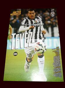 sports shoes ede9c 15b91 Details about CARLOS TEVEZ (Juventus) - LUIS SUAREZ (Barcelona) - Double  Poster 16,14 x 10,83