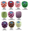 thumbnail 11 - 10 x 42m Circulo TORCAL Perle #5 Crochet Embroidery Thread message me Codes