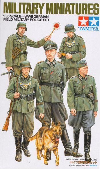 Tamiya 1/35 Zweiter Weltkrieg Deutsch Feld Militärpolizei Set #35320