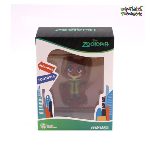 Beast Kingdom Mini Egg Attack MEA-006 Zootopia Nick Figure