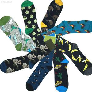 EC62-Socks-Alien-Lovers-Socks-Abstraction-1-Pairs-Unisex-Ladies-Slippers-Sloth
