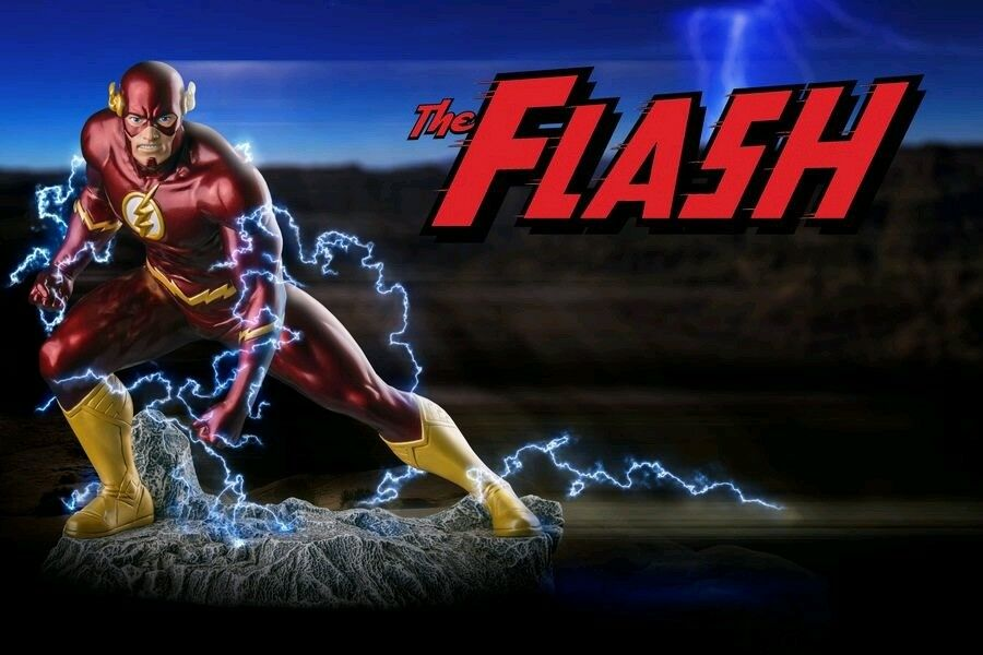 Flash - New 52 Flash 1 6 Scale Metallic Statue