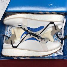 new concept a5be8 fe993 Adidas X Alexander Wang AW Run White Blue CM7827 Sz 12 Ultraboost Yeezy