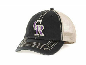 1e9d00670ad9e COLORADO ROCKIES MLB 47 BRAND MLB QUICK SWITCH FRANCHISE HAT CAP LID ...