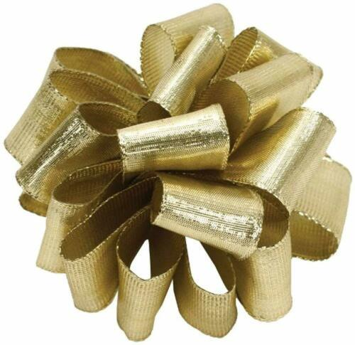 Meta Offray Wired Edge Metalique Craft Ribbon 2-1//2-Inch Wide by 25-Yard Spool