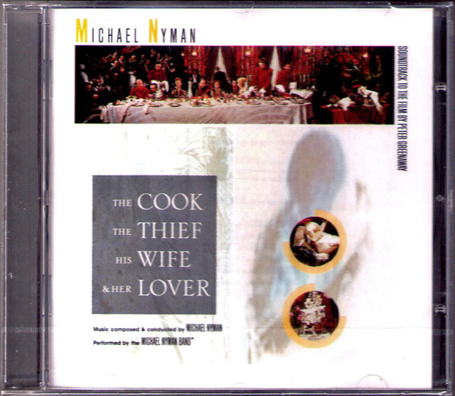 THE COOK, THE THIEF, HIS WIFE & HER LOVER Michael Nyman OST Soundtrack CD Neu